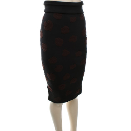 Acne Knit skirt with dots
