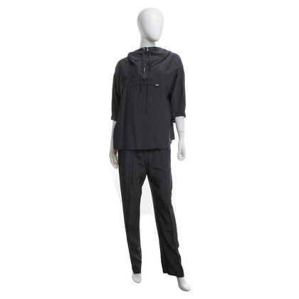 Prada top & trousers in dark gray