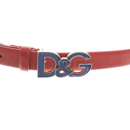 D&G Belt in red