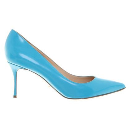 Sergio Rossi pumps in turchese