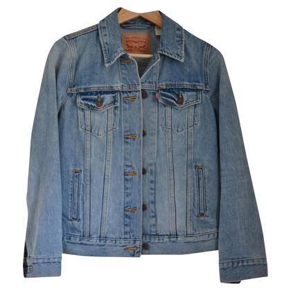 Levi's Denim jas in blauw