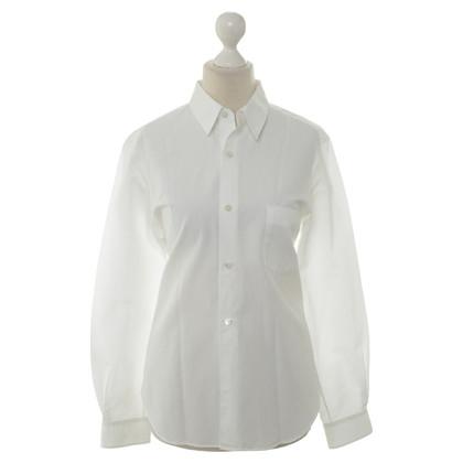 Comme des Garçons Overhemd blouse wit