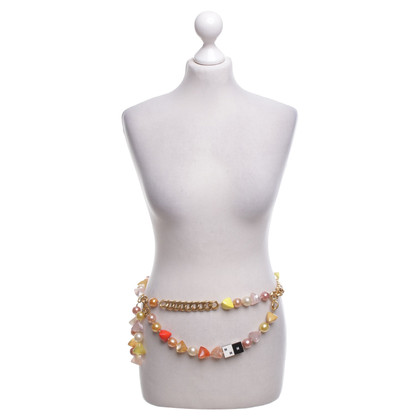 Chanel Cintura con applicazione logo