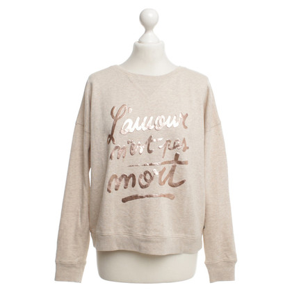 Maison Scotch Sweatshirt with lettering