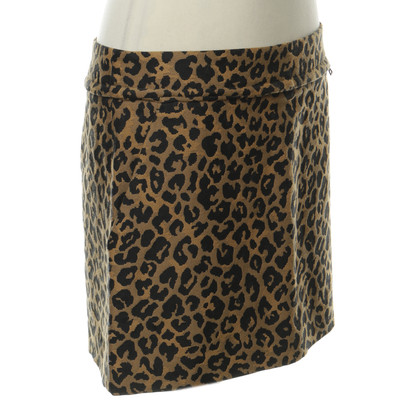 3.1 Phillip Lim Mini skirt in the Leo-print