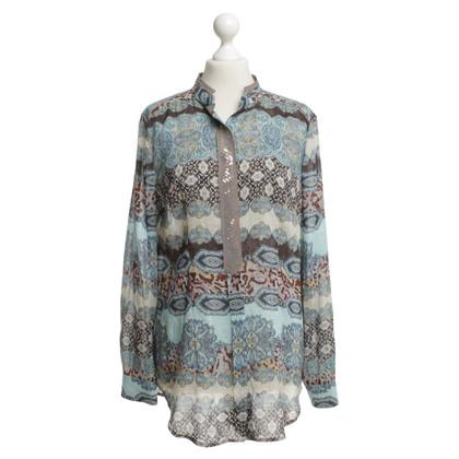 Riani Kleid mit buntem Muster