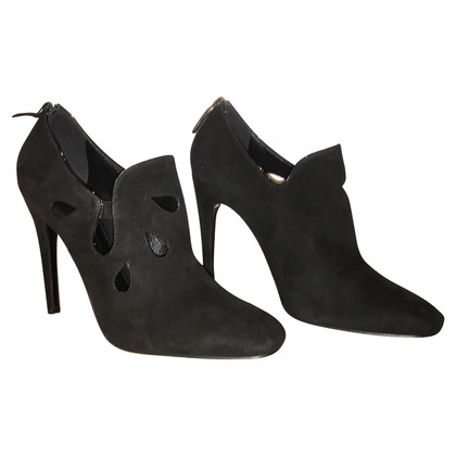 Bottega Veneta Schwarze Wildleder-Pumps