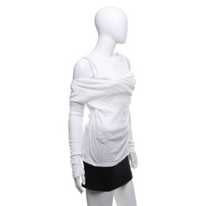 Carven top in white