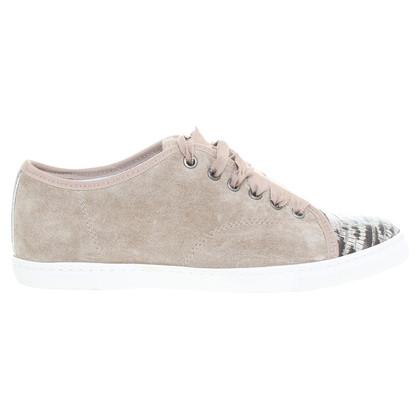 Lanvin Suede sneakers beige