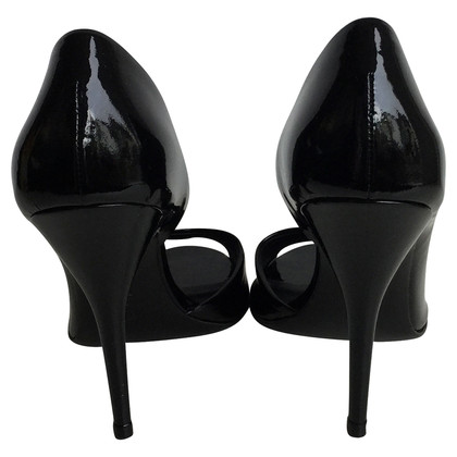 Givenchy Black peeptoe