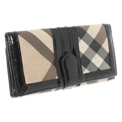 Burberry Wallet with checked pattern
