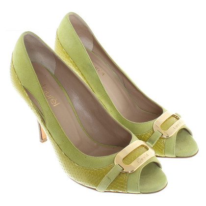 Laurèl Peeptoes in green