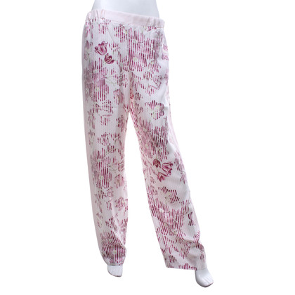 Salvatore Ferragamo trousers with print