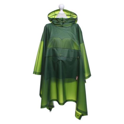 Hunter Raincape in green