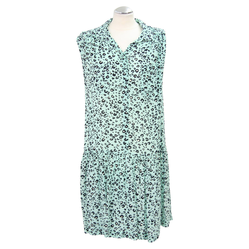French Connection Turquoise dress with print