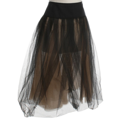 Akris Gonna di tulle nero