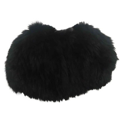 Max Mara Cape made of fox fur