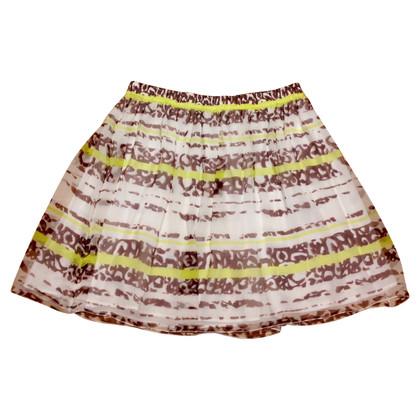 Strenesse Blue silk skirt