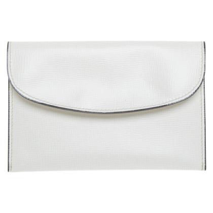 Valextra Card holder in cream