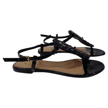 Dsquared2 Dsquared2 Black leather sandals