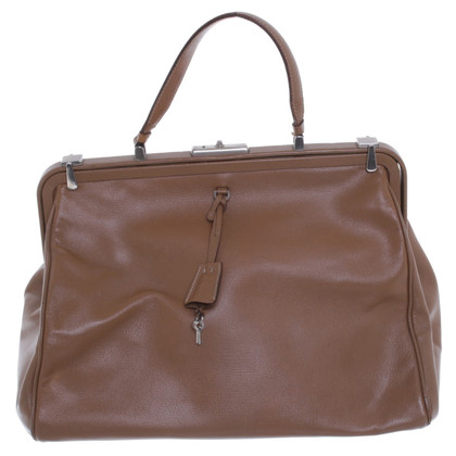 Prada Doctors Bag in Brown