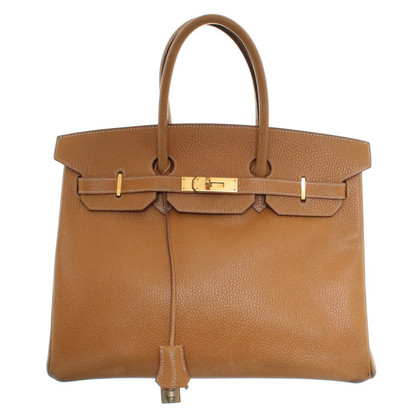 "Hermès ""Birkin Bag 35"" in Ocker"