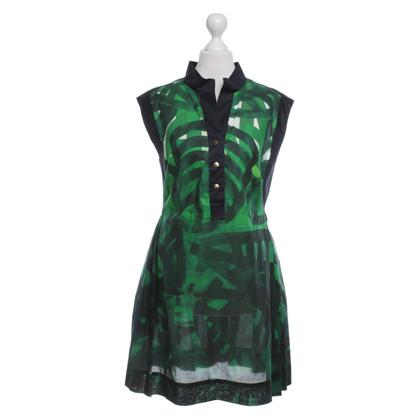 Escada Kleid mit Muster