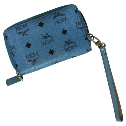 MCM Money bag in blue