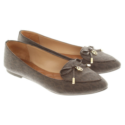 Michael Kors Slipper in donkerbruin