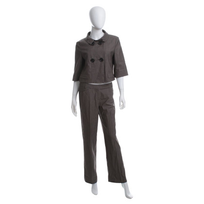 René Lezard Pants suit in Taupe
