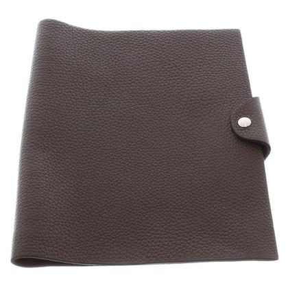 """Hermès Notebook """"Ulysse"""" a Brown"""