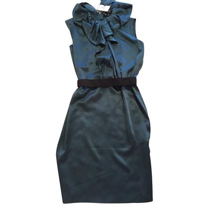 Lanvin Groene zijden jurk