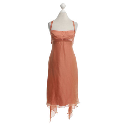 Max Mara Seidenkleid in Orange