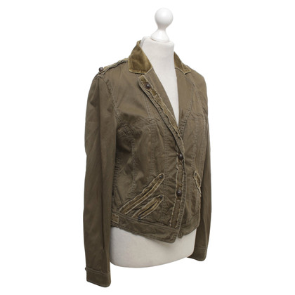 Marc Cain Thin jacket in olive green