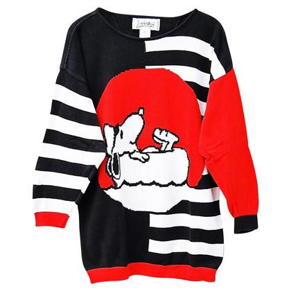 JC de Castelbajac 80 pull en tricot Vintage