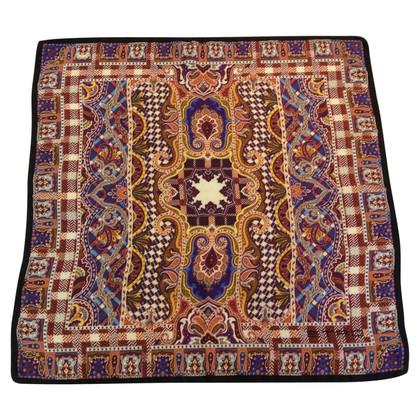 Etro silk carré scarf
