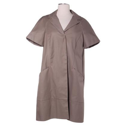 Comptoir des Cotonniers Manteau à manches courtes en kaki