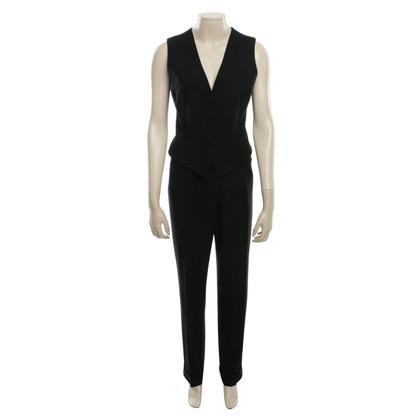 Dolce & Gabbana Tailleur pantalone in nero