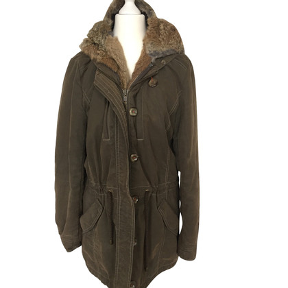 IQ Berlin Parka with fur trim
