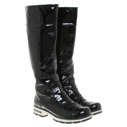 Dolce & Gabbana Boots patent leather