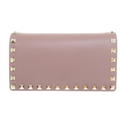 Valentino Rockstud shoulder bag in nude