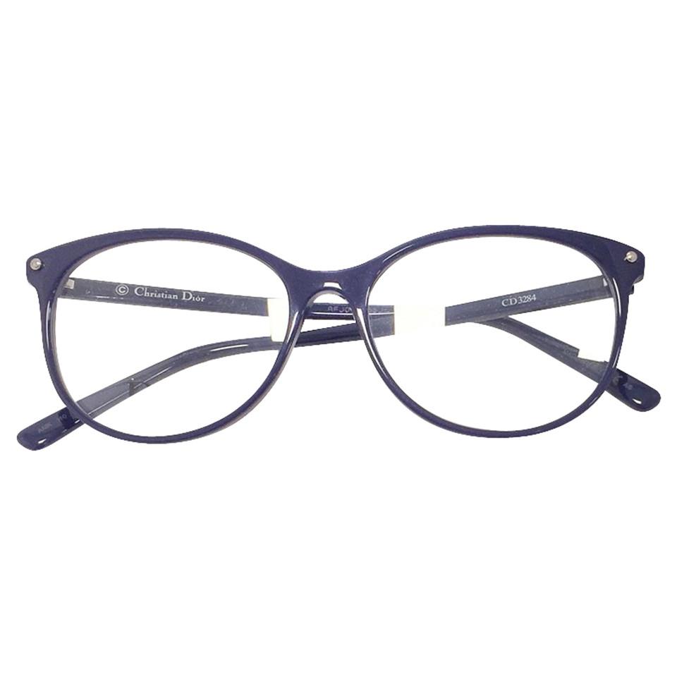 Glasses Frame Dior : Christian Dior Blu ink eyeglasses frame - Buy Second hand ...