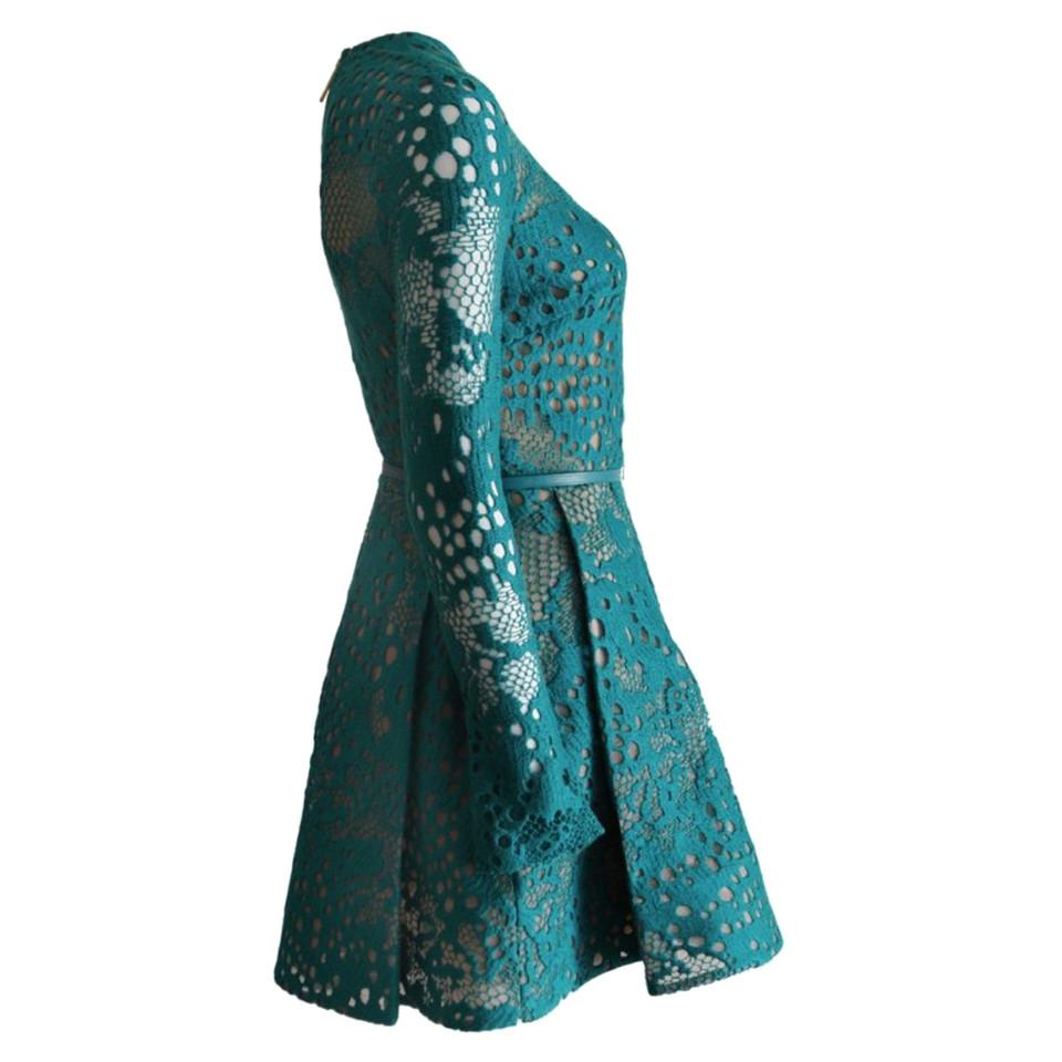 Elie Saab Elie Saab, green lace cocktail dress - Buy Second hand ...