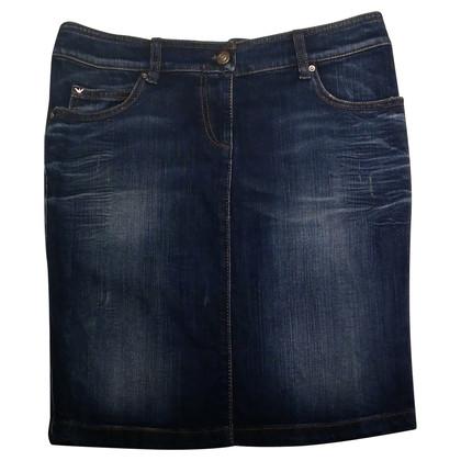 Armani Jeans Denim pencil skirt