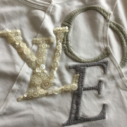Louis Vuitton Top met borduursel