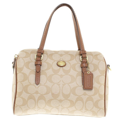 Coach Handtas in Beige