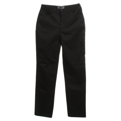Versace trousers in black