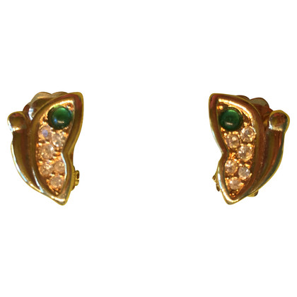 Christian Dior Small vintage clip earrings