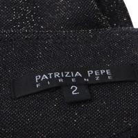 Patrizia Pepe Robe avec garniture de paillettes d'or