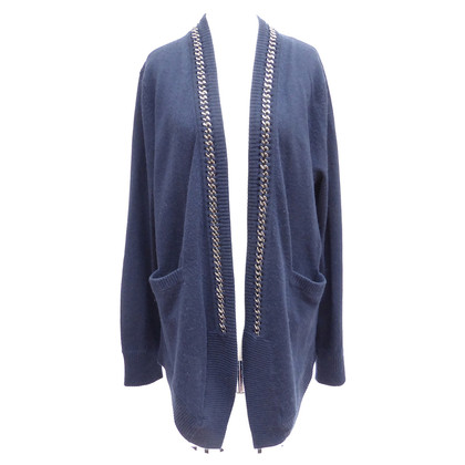 Allude Cardigan with jewelry chain